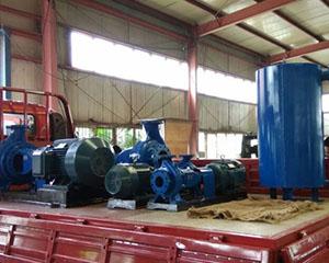 河南省豫泉泵业有限公司发货现场