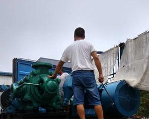 河南多级离心水泵厂家发货现场