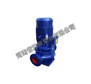 管道式离心清水泵